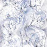 Carata_da_parati_EB004PH_3_Il fiume di Afrodite
