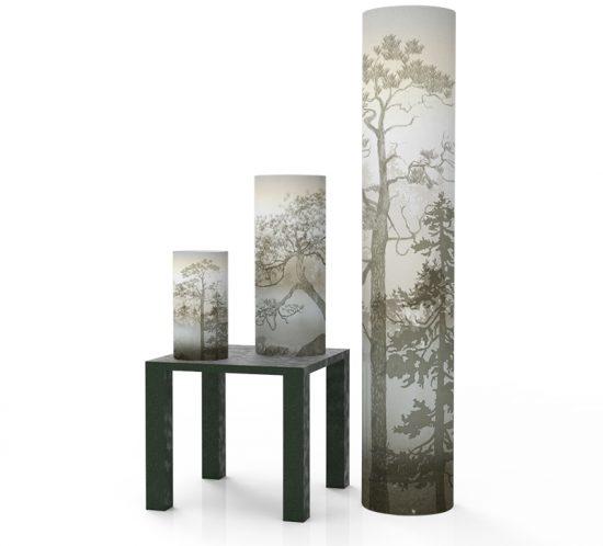 Scandinavian forest - Mist